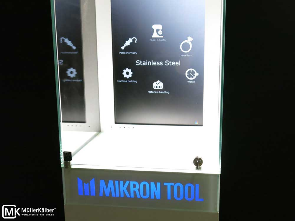MK 640 Sondervitrinen für Mikron