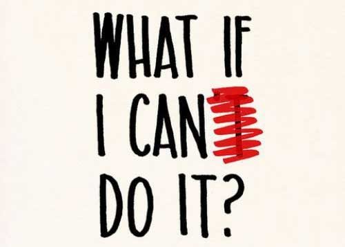 What if I can do it