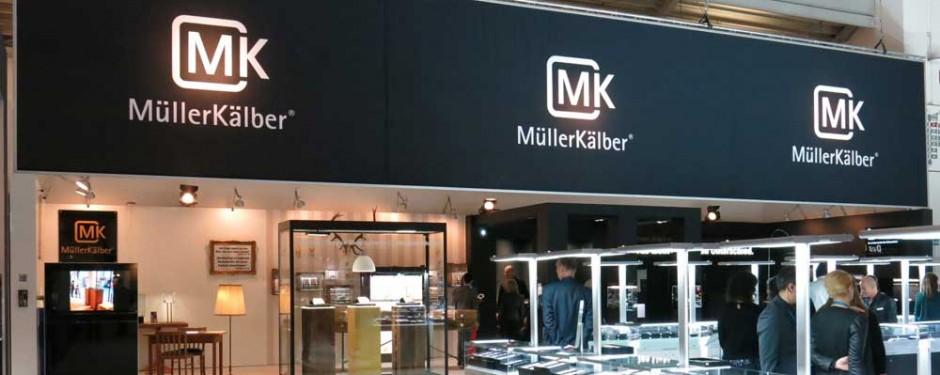 MüllerKälber Messestand auf der Inhorgenta Munich 2015 in München