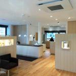 Beleuchtung für Schaufenster, Vitrinen und Beratungsplatz bei Goldschmiede Gassner