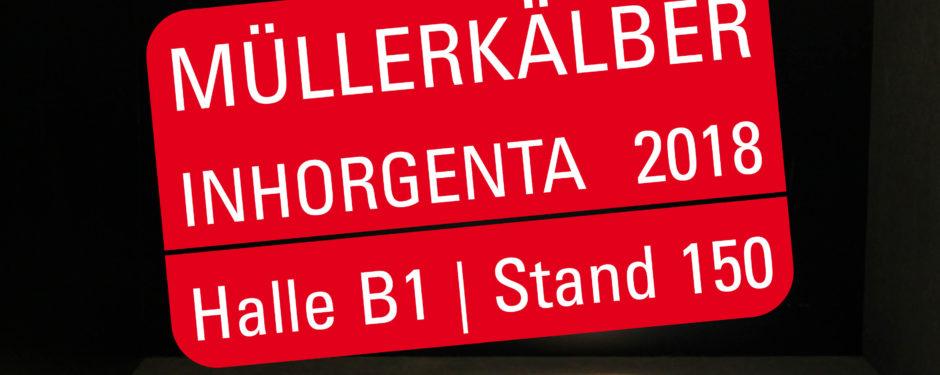 MüllerKälber auf der Inhorgenta in München in Halle B1, Stand 150