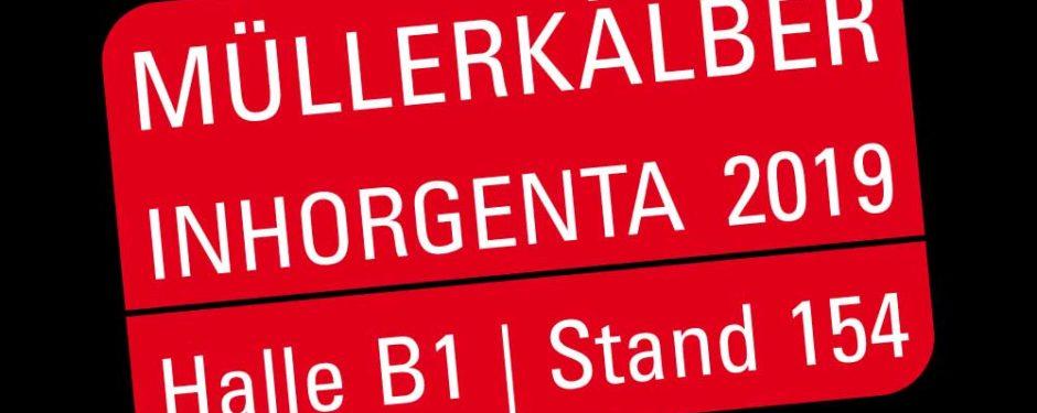 MüllerKälber auf der Inhorgenta 2019, Halle B1, Stand 154