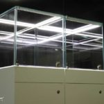 Sehr filigrane MK OptiLight 02-10 Vitrinenbeleuchtung