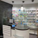 MK Schutzwände für Apotheken und Kassentresen