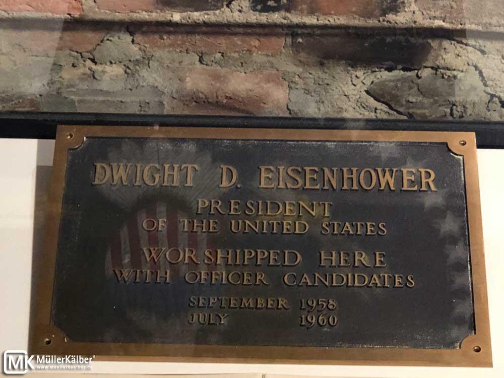 Plakette D. Eisenhower