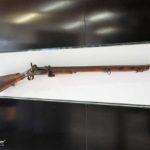 Wandvitrine MK Q 140x35 für ein Gewehr