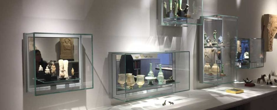 MK Wandvitrinen staubdicht für Museen und Kunstsammler