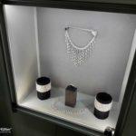 Magnetische Schmuckvitrinen mit LED-Beleuchtung