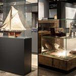 Vitrinen im Robbe & Berking Yachting Heritage Centre