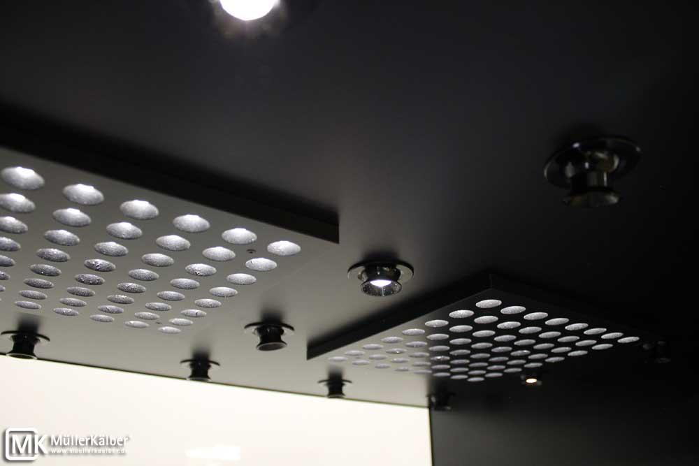 Sammlervitrine für Edelsteine, dimmbare LED-Platinen für Grundbeleuchtung