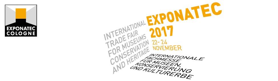 Besuchen Sie uns auf der Museumsmesse Exponatec 2017 in Köln!